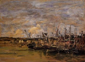 Portrieux, Fishing Boats at Low Tide