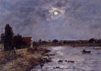 The Banks of the Touques, Moonlight