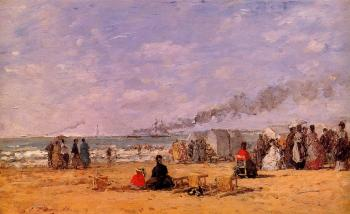 The Beach at Trouville II