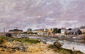 Eugene Boudin : The Port of Trouville