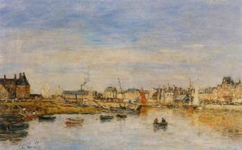 Eugene Boudin : The Port of Trouville II