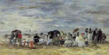 Trouville, Beach Scene