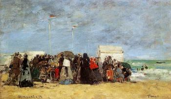 Trouville, Beach Scene II