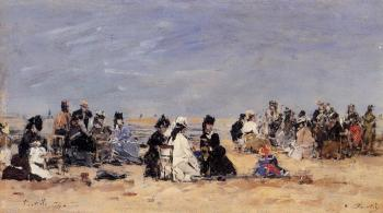 Trouville, Beach Scene III