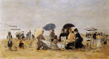 Trouville, Beach Scene IV