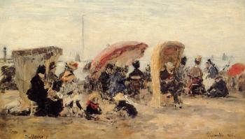 Trouville, Beach Scene V