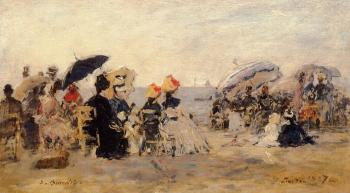 Trouville, Beach Scene VI