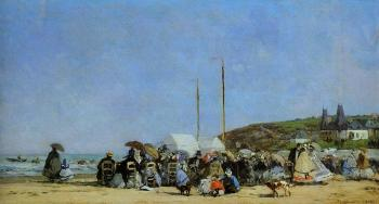 Trouville, Beach Scene IX