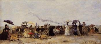 Trouville, Beach Scene XII