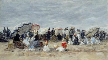 Trouville, Beach Scene XIV