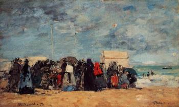 Trouville, Beach Scene XVI