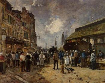 Trouville, Fish Market