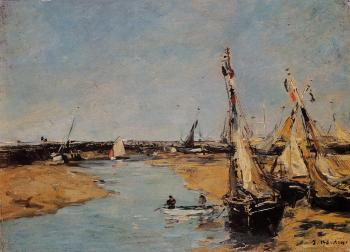Trouville, the Jettys, Low Tide