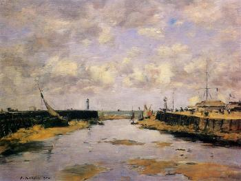 Trouville, the Jettys, Low Tide II