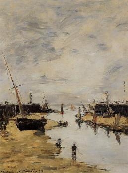 Trouville, the Jettys, Low Tide III