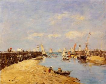 Trouville, the Jettys, Low Tide IX