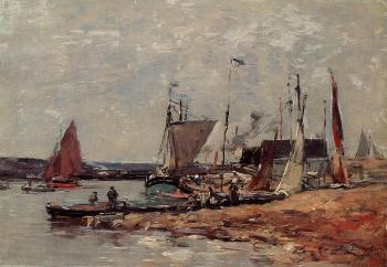 Trouville, the Port