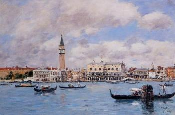 Venice, the Campanile, the Ducal Palace and the Piazzetta II