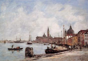 Venice, the Dock of the Giudecca