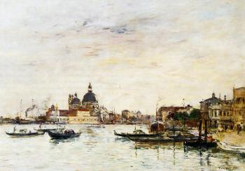 Venice, the Mole at the Entrance of the Grand Canal