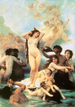 William-Adolphe Bouguereau : The Birth of Venus