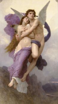 William-Adolphe Bouguereau : The Abduction of Psyche