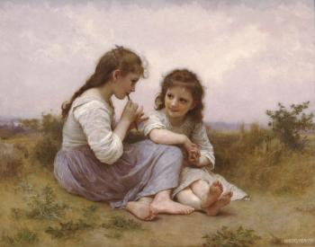 Two Girls (Childhood Idyll)