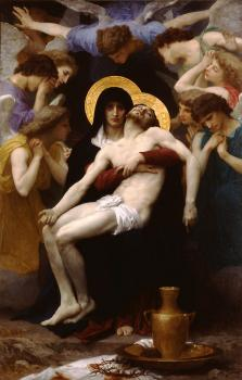 William-Adolphe Bouguereau : Pieta