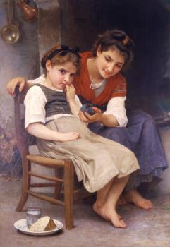 Bouguereau, William-Adolphe - The little sulk