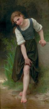 William-Adolphe Bouguereau : The Ford