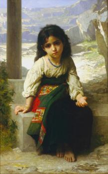 Bouguereau, William-Adolphe - The little beggar