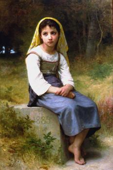 Bouguereau, William-Adolphe - Meditation