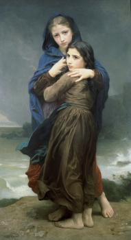 William-Adolphe Bouguereau : The Storm