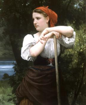 William-Adolphe Bouguereau : The Haymaker