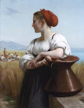 William-Adolphe Bouguereau : The Harvester