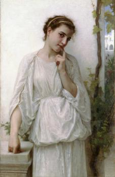 William-Adolphe Bouguereau : Reverie(Revery)