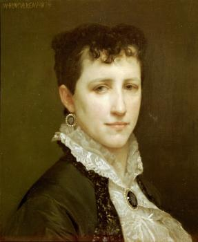 Bouguereau, William-Adolphe - Portrait de Mademoiselle Elizabeth Gardner(Portrait of Miss Elizabeth Gardner)