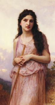 William-Adolphe Bouguereau : L'attente (Waiting)