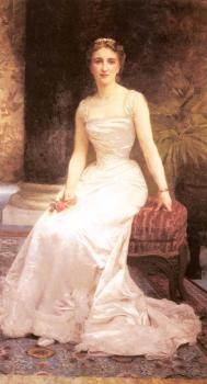 William-Adolphe Bouguereau : Portrait of Madame Olry-Roederer