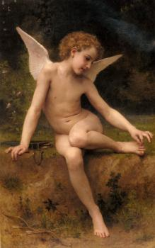 William-Adolphe Bouguereau : L'Amour A L'Epine