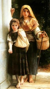 William-Adolphe Bouguereau : Petites mendiantes (Little beggars)