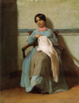 A Portrait of Leonie Bouguereau