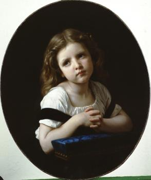William-Adolphe Bouguereau : La Priere , The Prayer