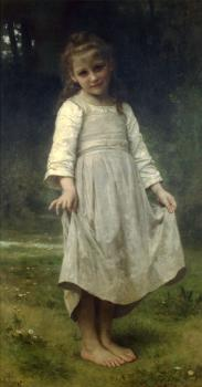 William-Adolphe Bouguereau : La reverence, The curtsey