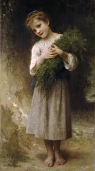 William-Adolphe Bouguereau : Retour des champs, Returned from the fields