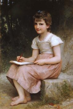 William-Adolphe Bouguereau : Une vocation, A calling