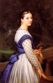 William-Adolphe Bouguereau : La Comtesse de Montholon, The Countess de Montholon
