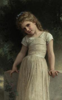 William-Adolphe Bouguereau : The Mischievous One