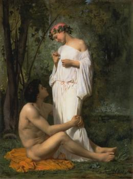 William-Adolphe Bouguereau : Idylle