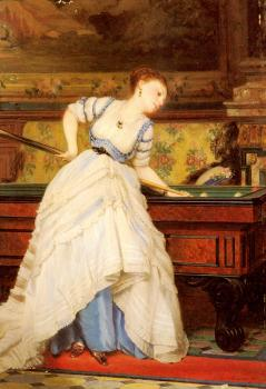 Charles Edward Boutibonne : An Elegant Billiard Player